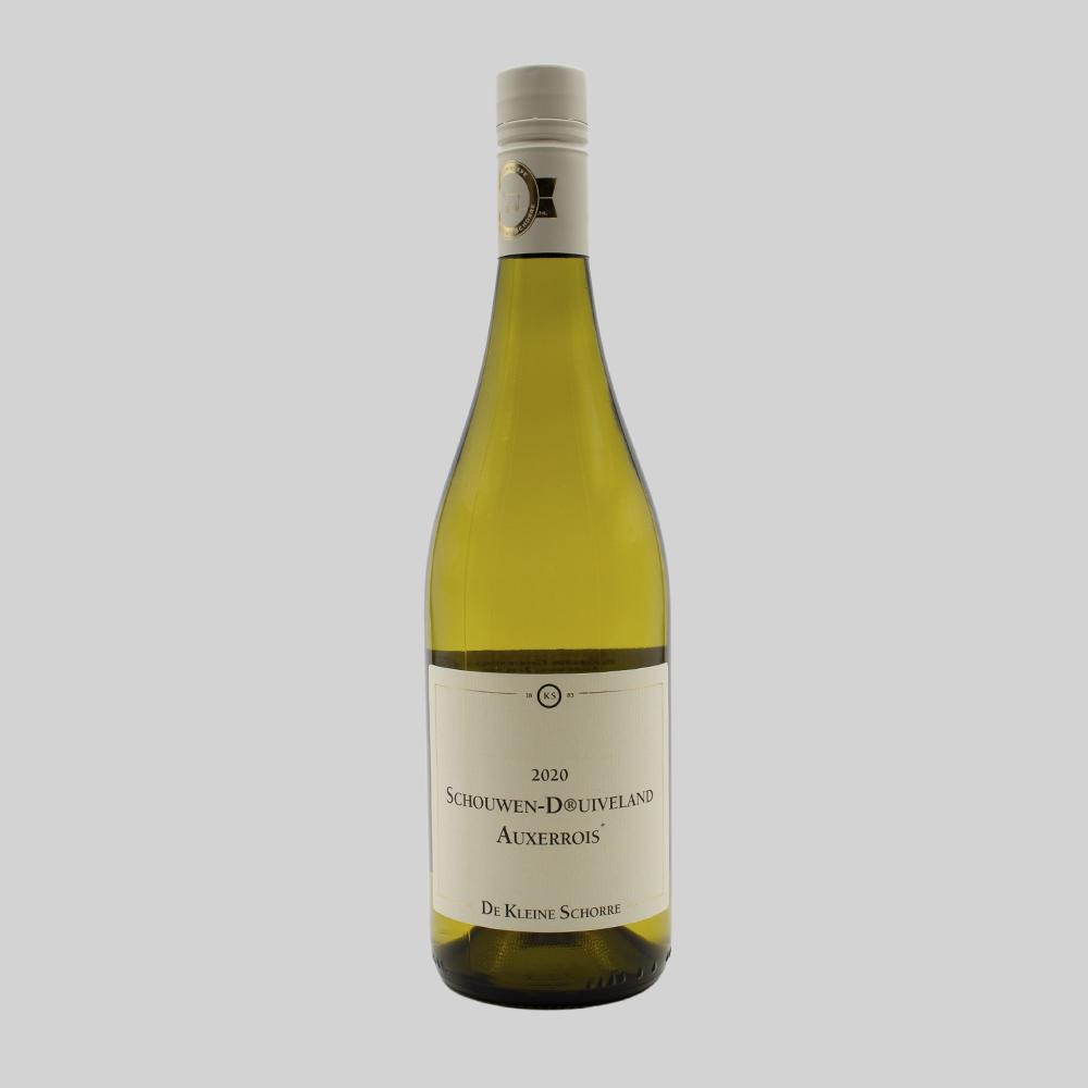 Wijnhoeve de Kleine Schorre, Schouwen Druivenland Auxerrois  - 2020