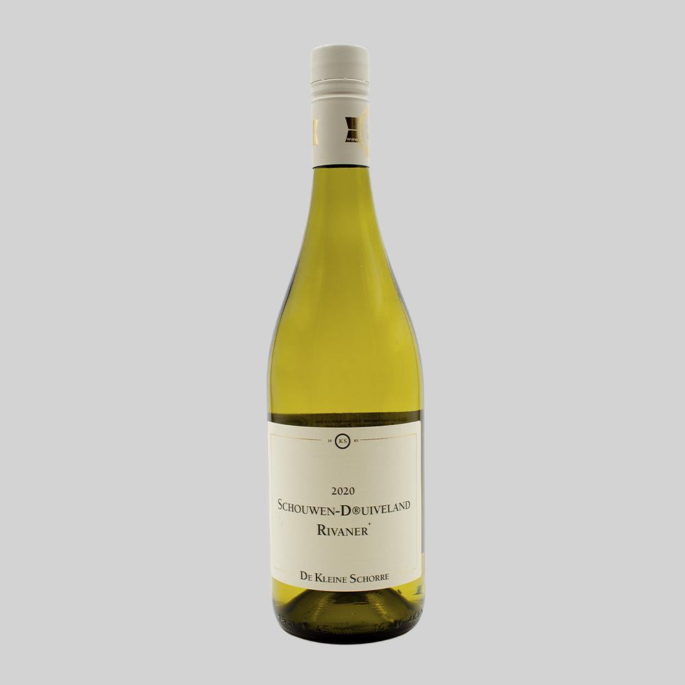 Wijnhoeve de Kleine Schorre, Schouwen Druivenland Rivaner  - 2020