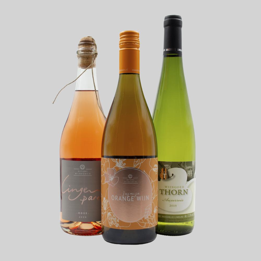 """wijnwinkel bob, De """"support oranje, drink lokaal"""" EK box - van €47,40 voor €42,50"""
