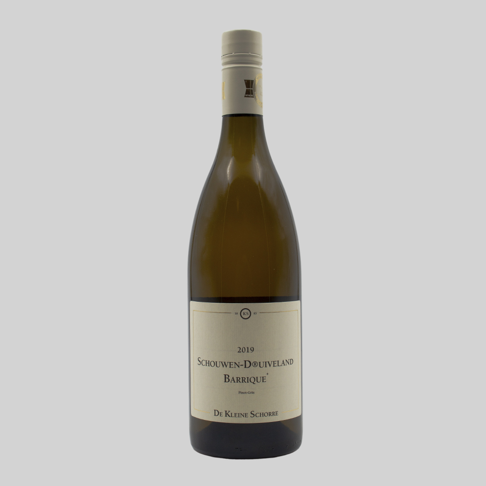 Wijnhoeve de Kleine Schorre, Schouwen Druivenland Barrique  - 2019