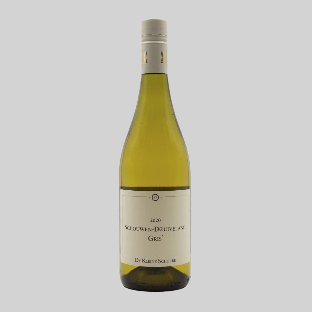 Wijnhoeve de Kleine Schorre, Schouwen Druivenland Gris  - 2020